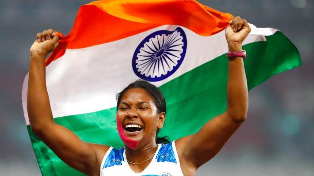 Asian Athletics: Silver to Swapna, Dune in the 200m semi-finals