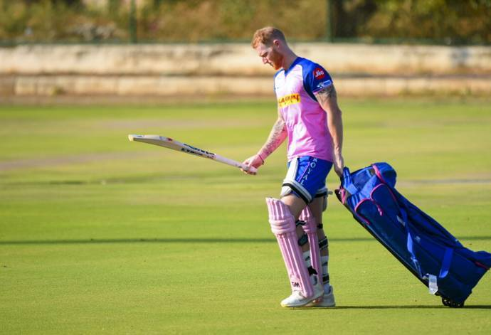 IPL 2019- इंग्लैंड रवाना होने से पहले भावुक हो उठे बेन स्टोक्स, भारी मन से साथियों को कही ये बात