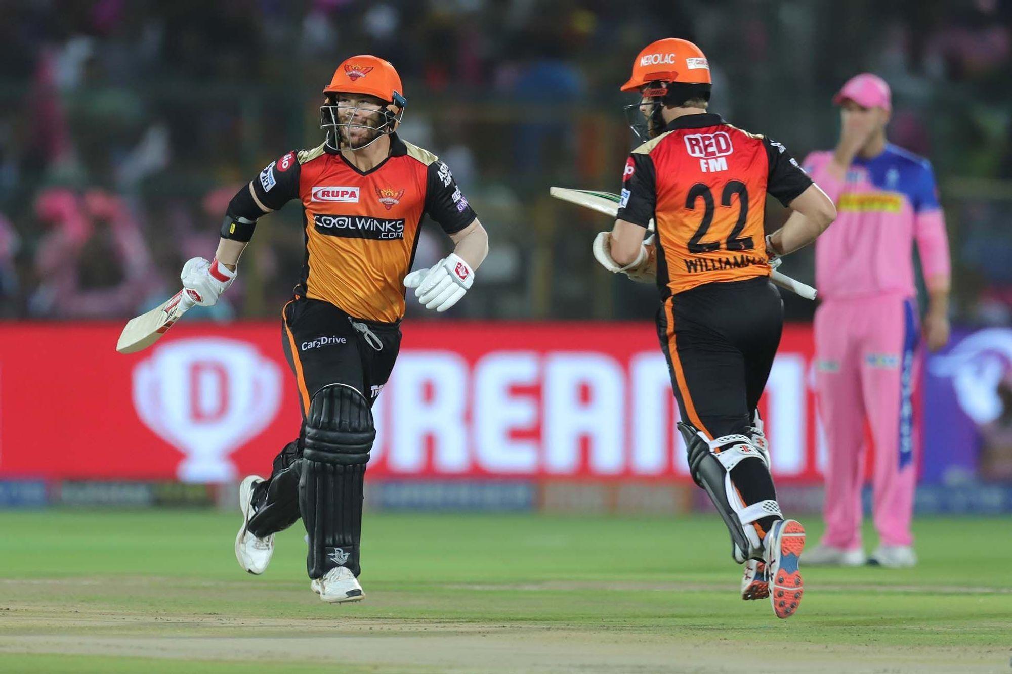 RRvsSRH : STATS :  मैच में बने 8 रिकार्ड्स, डेविड वार्नर ऐसा करने वाले बने आईपीएल के पहले खिलाड़ी 14