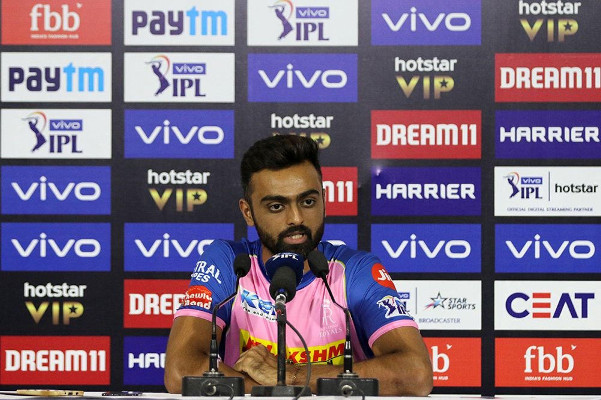 RRvsSRH : 'मैन ऑफ द मैच' जयदेव उनादकट ने इस खिलाड़ी को दिया अपने अच्छे प्रदर्शन का श्रेय 10