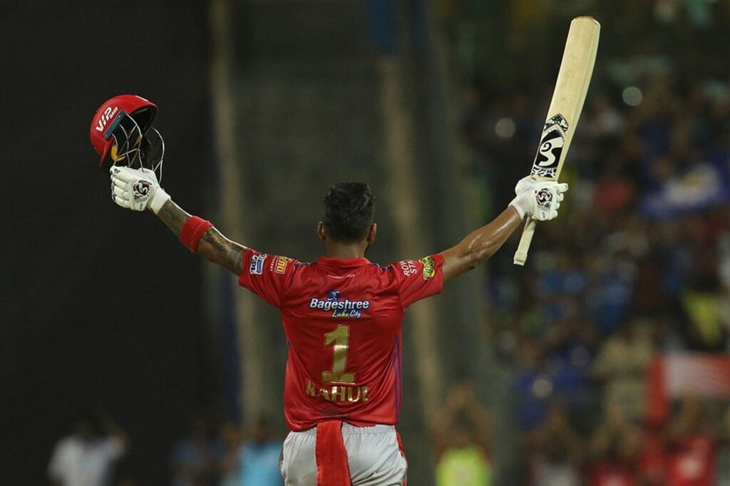 STATS: MIvsKXIP: मैच में बने कुल आठ बड़े रिकॉर्ड, ऐसा करने वाले पहले बल्लेबाज बने के एल राहुल 1