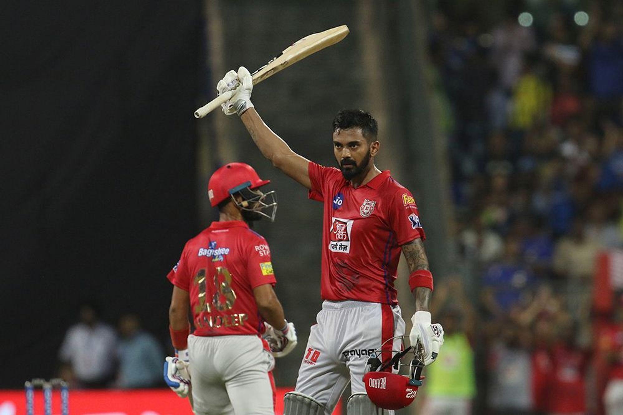 STATS: MIvsKXIP: मैच में बने कुल आठ बड़े रिकॉर्ड, ऐसा करने वाले पहले बल्लेबाज बने के एल राहुल
