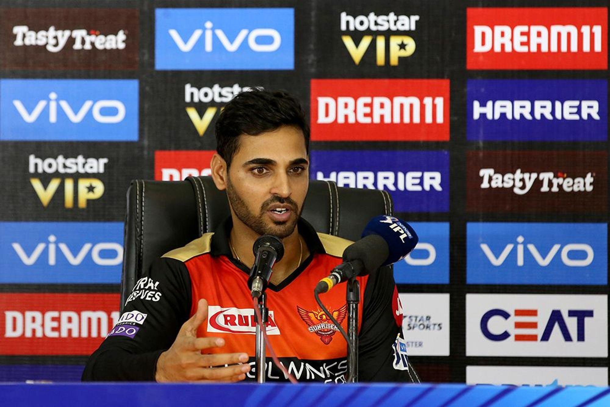 मुंबई से हारते ही भुवनेश्वर कुमार को आई केन विलियमसन की याद, बताया कब करेंगे वापसी 4
