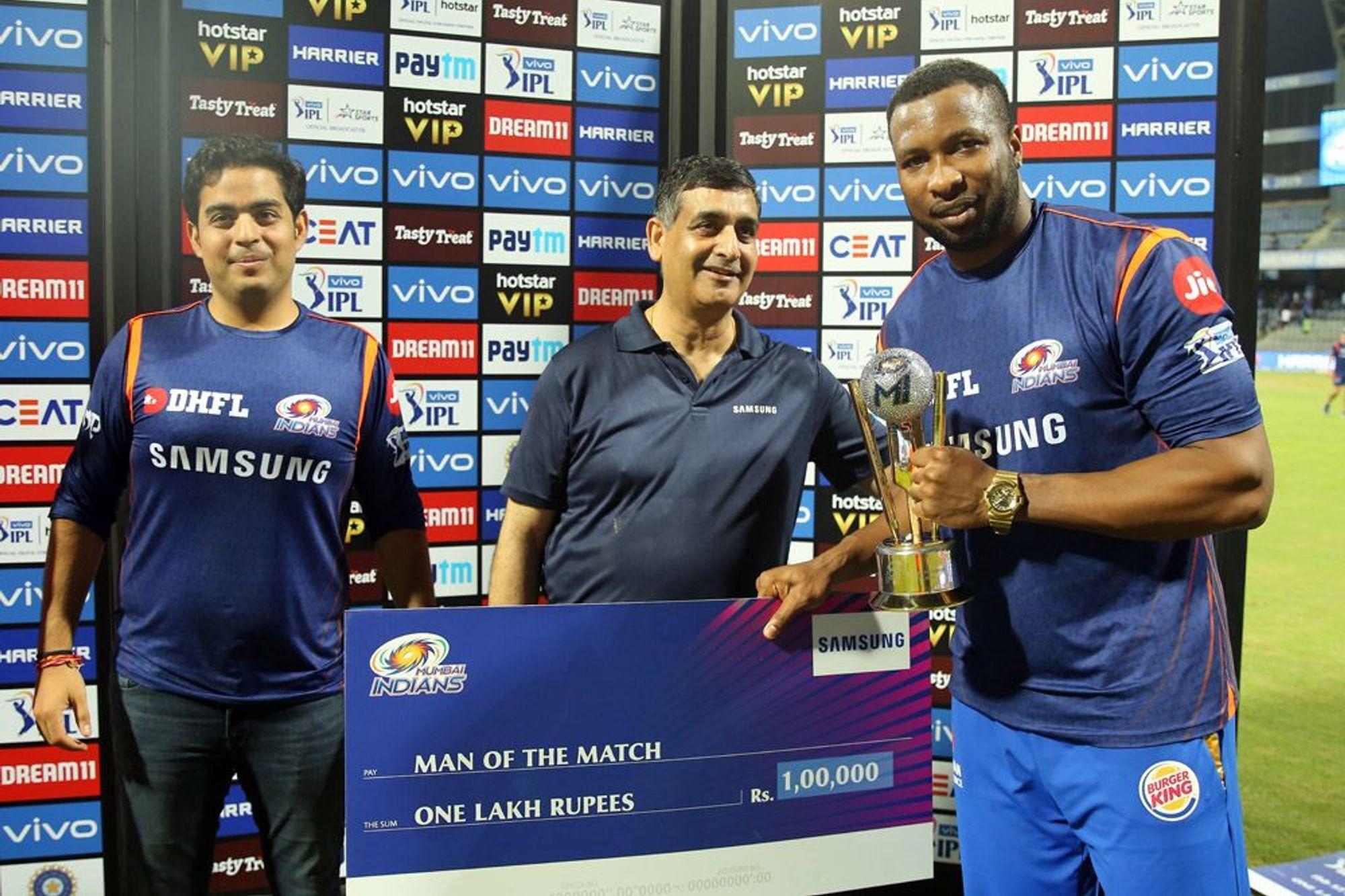 मैन ऑफ द मैच किरोन पोलार्ड ने रोहित शर्मा के लिए कही ऐसी बात, जीत लिया करोड़ों भारतियों का दिल