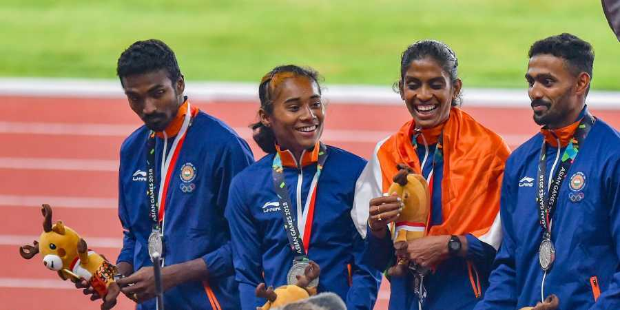 Asian Athletics: 4x400m Silver in India mixed mixed