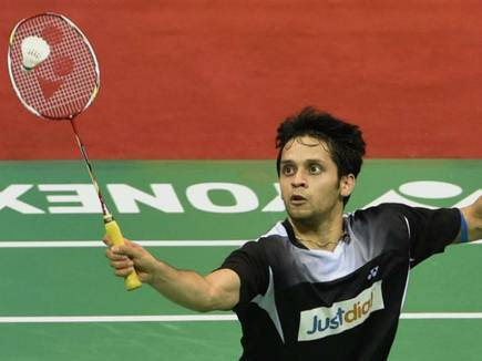 Badminton: Prannoy reached the second round of Singapore Open