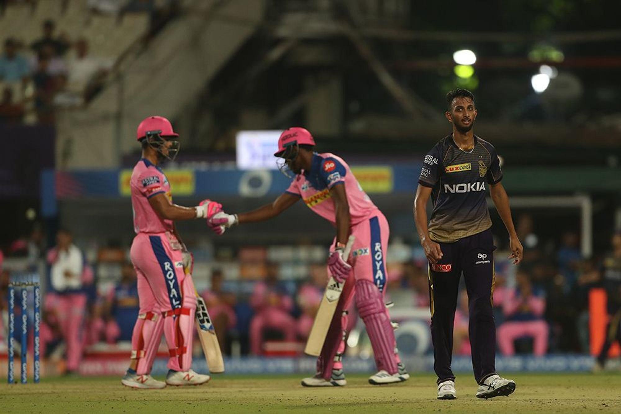 KKRvsRR : पराग और आर्चर की तूफानी पारी के दम पर राजस्थान ने केकेआर को 3 विकेट से हराया 29