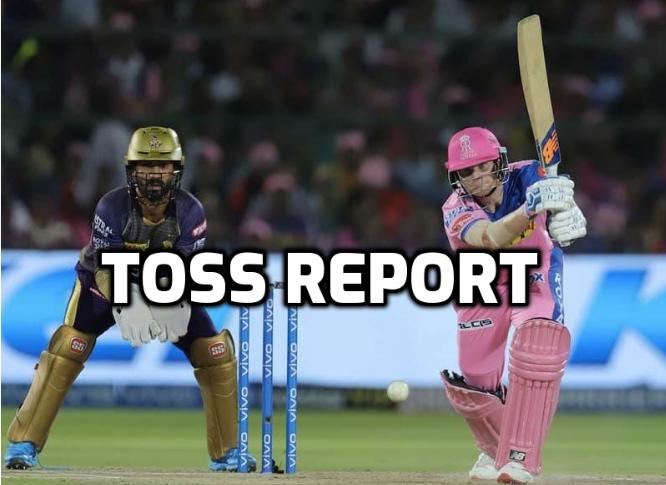 KKRvsRR : टॉस रिपोर्ट: राजस्थान ने टॉस जीत किया पहले गेंदबाजी का फैसला, स्टार खिलाड़ी की हुई वापसी 51