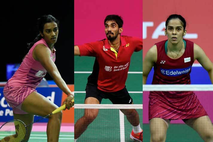 Badminton: Sindhu, Saina and Srikanth in second round