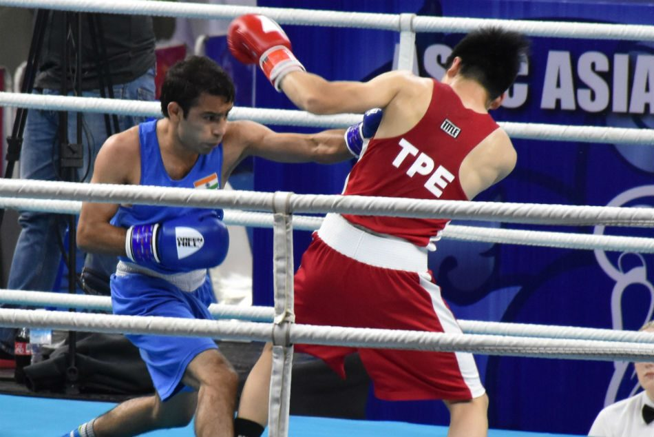 Boxing: In the quarterfinals of Asian Championship including Thapa, Sarita and Amit