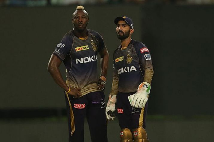 IPL 2019- दिनेश कार्तिक ने बताया चोटिल आंद्रे रसेल होंगे आरसीबी के खिलाफ केकेआर की टीम का हिस्सा या करेंगे आराम