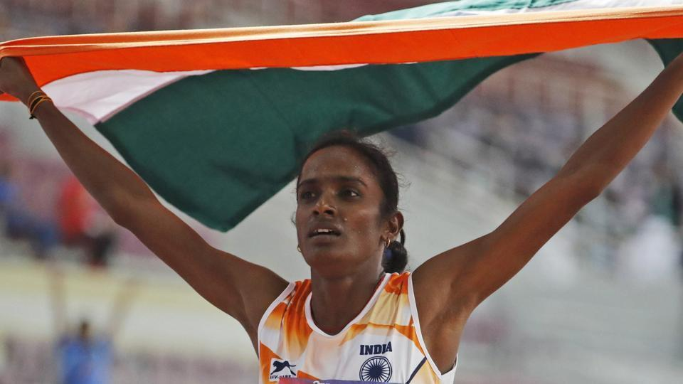 Asian Athletics: Gomti brought gold to India in 800 meters