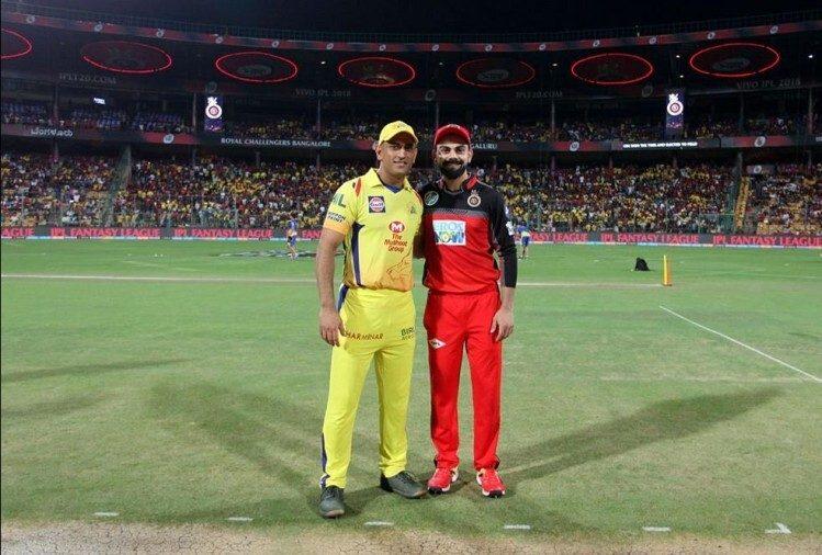IPL 2019- क्या होता अगर विराट कोहली की जगह महेंद्र सिंह धोनी होते रॉयल चैलेंजर्स बैंगलोर के कप्तान? ये होते बदलाव 3