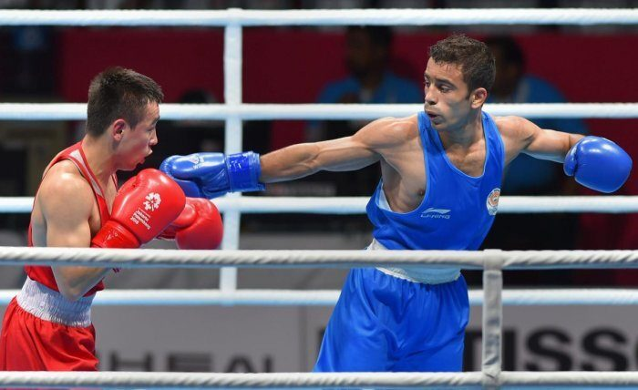 Amit pagal won gold in Asian boxing championship