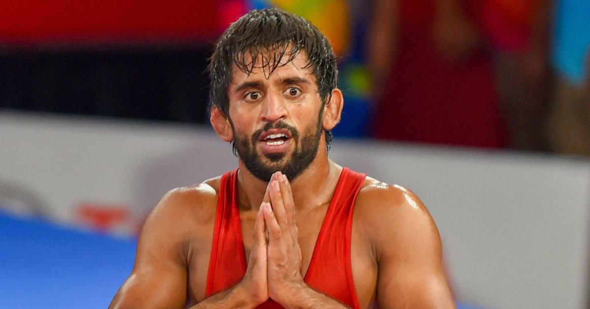 Asian Wrestling: Gold to Bajrang, 3 medals to India on the first day