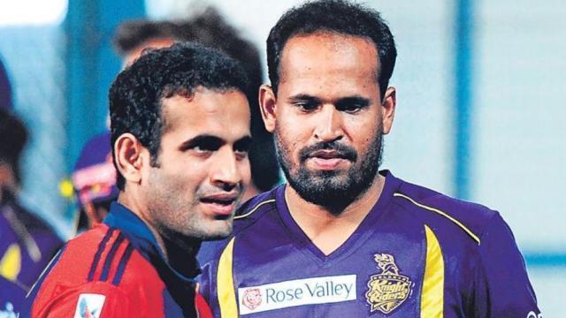 युसूफ पठान ने कहा इस पाकिस्तानी खिलाड़ी को अपना आदर्श मानते थे इरफ़ान पठान 1