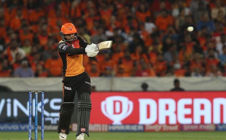सनराइजर्स हैदराबाद ने बनाए 175 रन ट्विटर पर मनीष पांडे की धूम