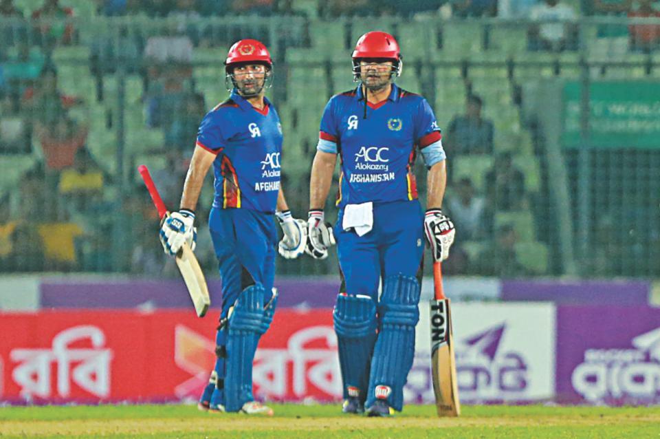 BAN vs AFG : मोहम्मद नबी की तूफानी बल्लेबाजी के दम पर अफगानिस्तान ने बांग्लादेश को 25 रन से हराया