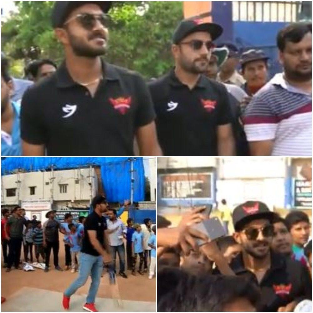 WATCH : राशिद खान और विजय शंकर ने बच्चो के साथ खेला गली क्रिकेट 10