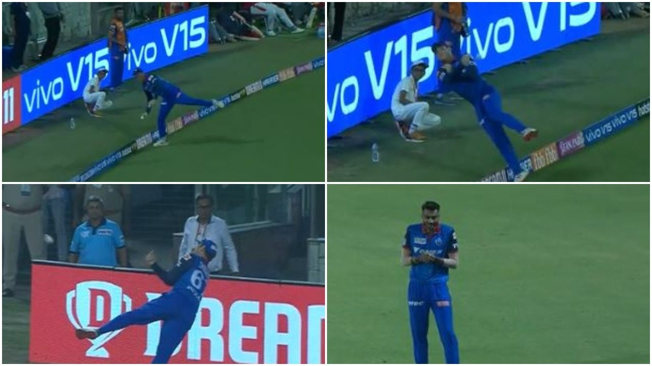 कॉलिन इंग्राम-अक्षर पटेल ने मिलकर पकड़ा आईपीएल इतिहास का सबसे सर्वश्रेष्ठ कैच, देखें वीडियो