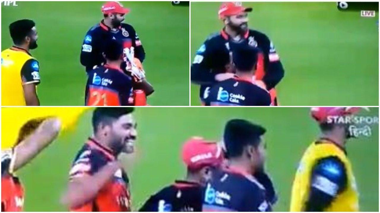WATCH : एक रन से मैच जीतने के बाद पार्थिव पटेल को गोदी में उठा कर घूमें मोहम्मद सिराज