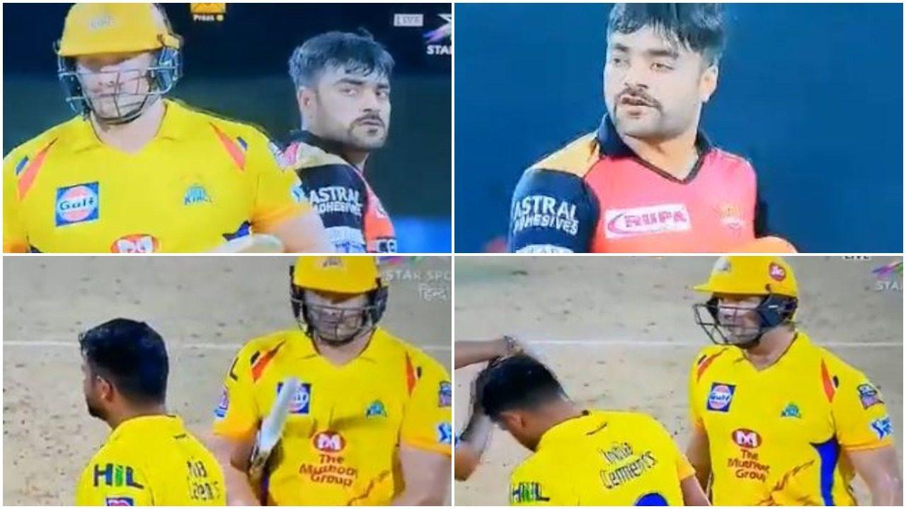 वीडियो: राशिद खान ने खोया मैदान पर आपा, शेन वाटसन को सरेआम दी गाली