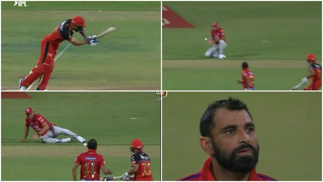 WATCH : पंजाब के खिलाफ कोहली को खेलने के मिले दो मौके, लेकिन फिर भी बना पाये मात्र 13 रन