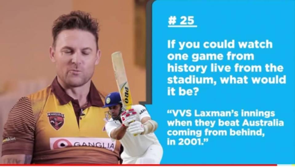 सचिन, कोहली या धोनी नहीं, बल्कि इस भारतीय खिलाड़ी की पारी को आज भी स्टेडियम में बैठकर देखना चाहते हैं ब्रेंडन मैकुलम 3