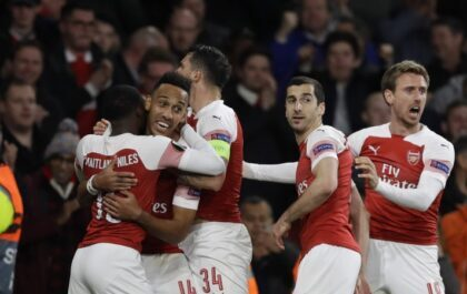 Europa League: Arsenal win important match against Valencia