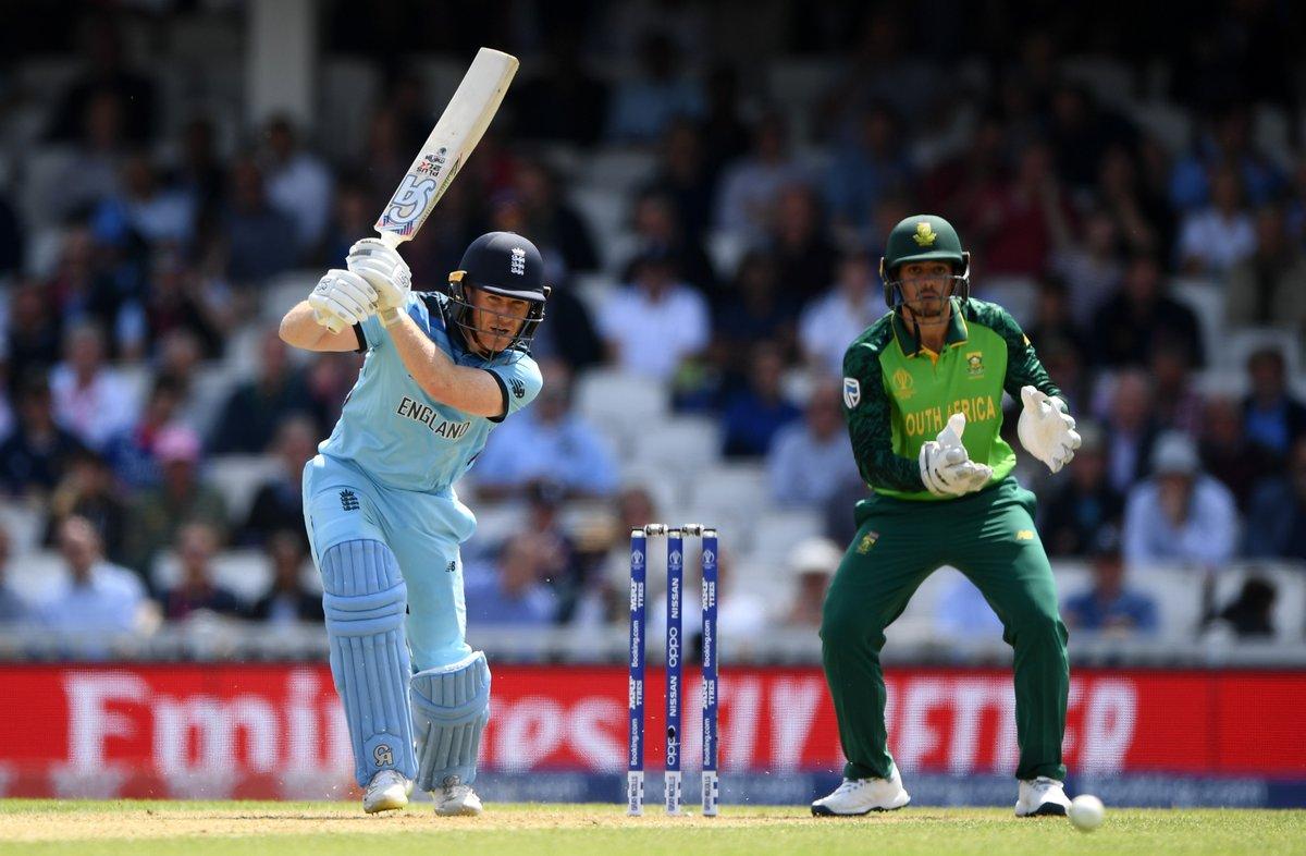 ICC CRICKET WORLD CUP 2019: ENG vs SA स्टैट्स: मैच में बने कुल 8 बड़े रिकॉर्ड, मॉर्गन रचा विश्व इतिहास 1