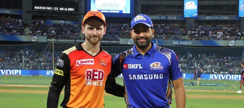 SRHvsMI : टॉस रिपोर्ट : मुंबई इंडियंस ने जीता टॉस, इस प्रकार है दोनों टीमों की प्लेइंग इलेवन 2