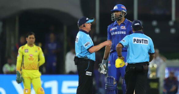 आईपीएल में इन मैचों में अंपायरिंग नहीं खराब होती तो आज मुंबई इंडियंस नहीं होता विजेता 81