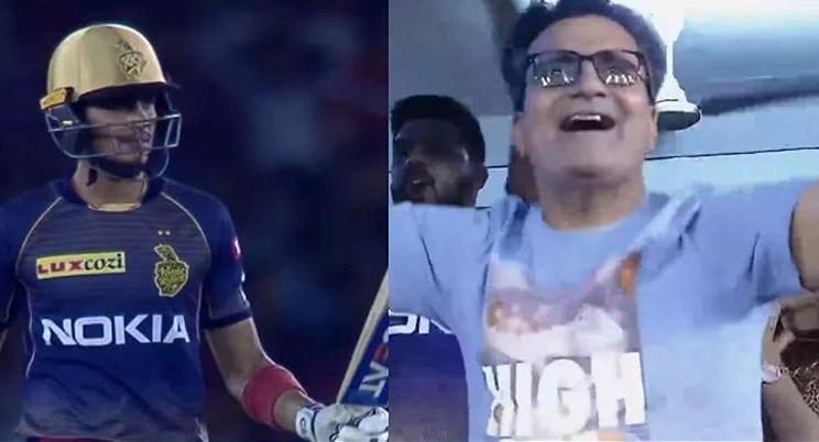 आईपीएल 2019: शुभमन गिल के पिता का भांगड़ा देख शाहरुख खान भी हुए खुश, गिल परिवार को सोशल मीडिया पर दिया खास सन्देश