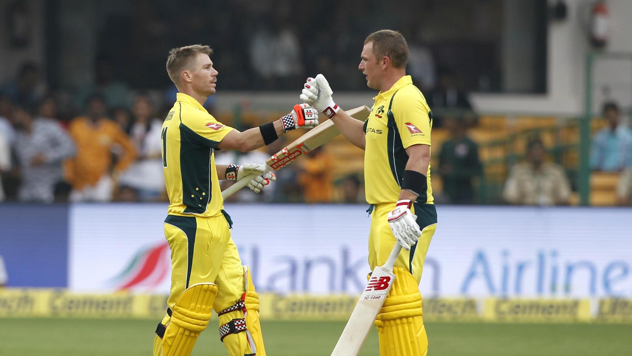 विश्व कप से पहले डेविड वार्नर की फॉर्म को देखकर ऑस्ट्रेलियाई कप्तान एरोन फिंच ने भारत, इंग्लैंड समेत सभी टीमों को दी एक बड़ी चेतावनी 3