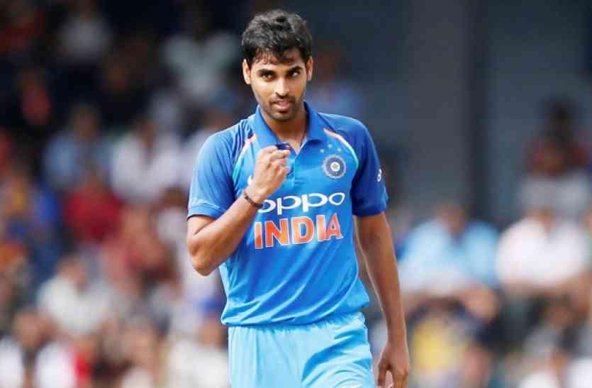 WORLD CUP 2019: पाकिस्तान के खिलाफ चोटिल हुए भुवनेश्वर कुमार, नहीं कर पाएगे गेंदबाजी