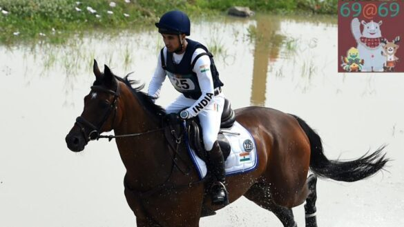 Equestrian: Furious Mirza secures second place in CCI-3