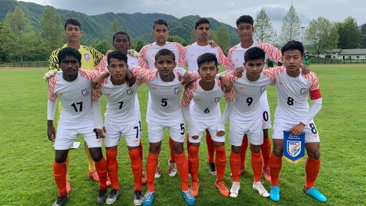 फुटबाल : भारतीय यू-15 टीम ने हासिल की चार मैचों में पहली जीत