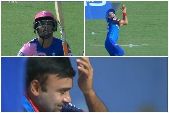 आईपीएल 2019: DC vs RR: 11.4 ओवर में हैट्रिक गेंद पर ट्रेंट बोल्ट ने छोड़ा आसान सा कैच, देखने लायक रहा अमित मिश्रा का रिएक्शन 67