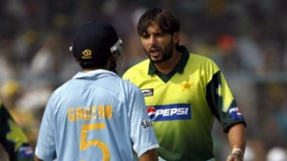 Gambhir advised Afridi to meet psychiatrist in India