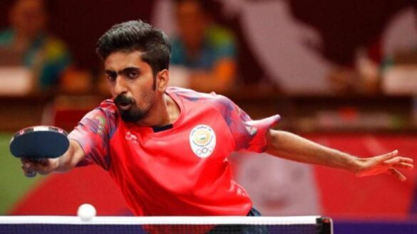 Right now my best to come: Sathiyan