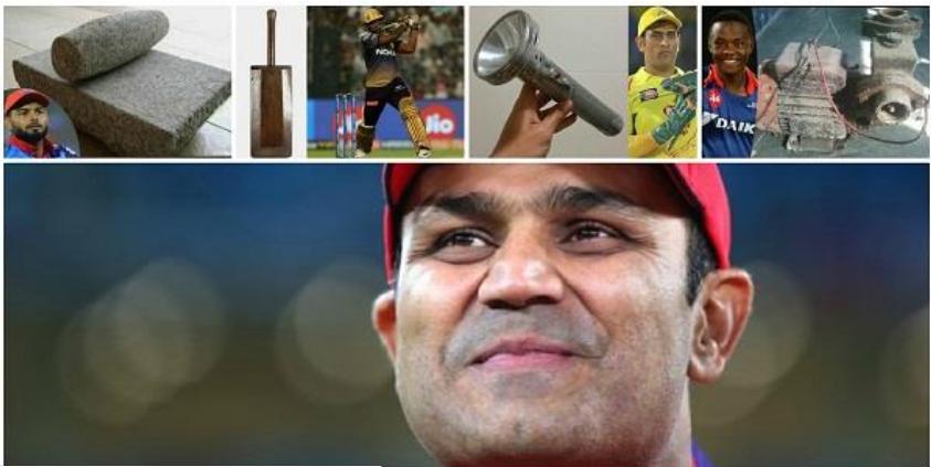 वीरेन्द्र सहवाग ने आईपीएल में शानदार प्रदर्शन करने वाले खिलाड़ियों को दिया अजीबो-गरीब अवार्ड