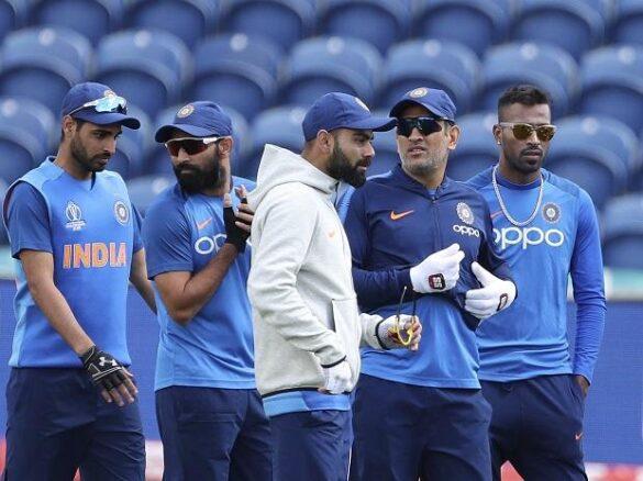 साउथ अफ्रीका के खिलाफ विश्व कप के पहले मुकाबले से पहले ऐसे बहा रही है भारतीय टीम पसीना 80