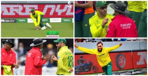WORLD CUP 2019: SA vs PAK: 11.2 ओवर के खेल में मैदान पर देखने को मिला बड़ा ड्रामा, किसी को नहीं हुआ यकीन 27