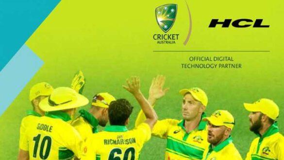 ऑस्ट्रेलिया क्रिकेट बोर्ड के साथ जुड़ी भारतीय कंपनी HCL 43