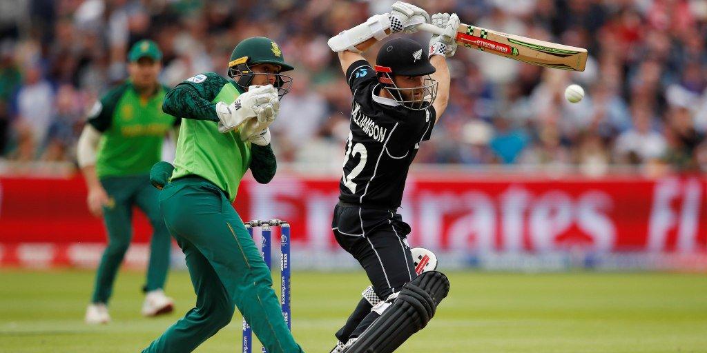 WORLD CUP 2019: SA vs NZ: स्टैट्स: मैच में बने कुल 8 बड़े रिकार्ड्स, केन विलियमसन ने छोड़ा रोहित शर्मा को पीछे