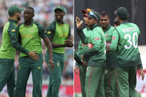 WORLD CUP 2019: टॉस रिपोर्ट: साउथ अफ्रीका ने टॉस जीता पहले गेंदबाजी का फैसला, अफ्रीका की टीम से बाहर हुआ दिग्गज 15