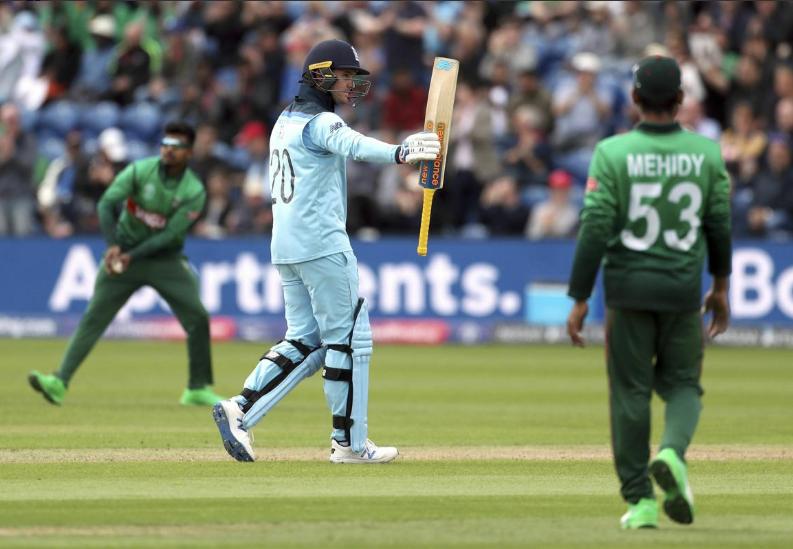 WORLD CUP 2019: ENG vs BAN: स्टैट्स: जेसन रॉय और शाकिब अल हसन ने की रिकार्ड्स की बरसात, मैच में बने कुल 14 रिकॉर्ड