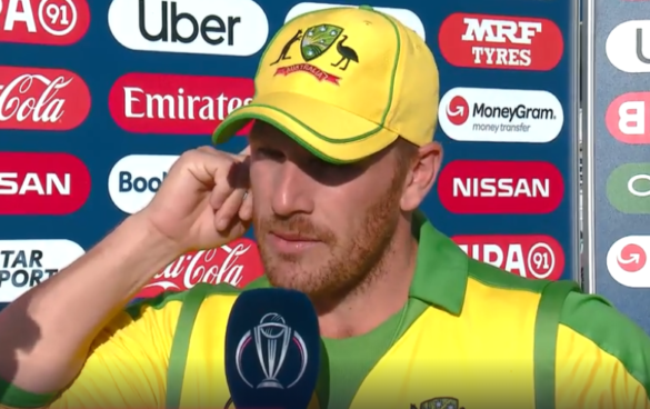 CWC 2019, ENGvsAUS: मैन ऑफ द मैच आरोन फिंच ने इंग्लैंड के इस गेंदबाजी की जमकर तारीफ की 48