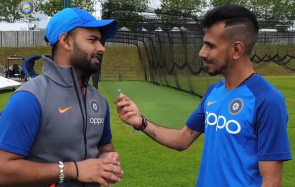 CWC-2019: विश्व कप टीम में शामिल होने की बात सबसे पहले ऋषभ पंत ने अपने इस ख़ास को बताई 18