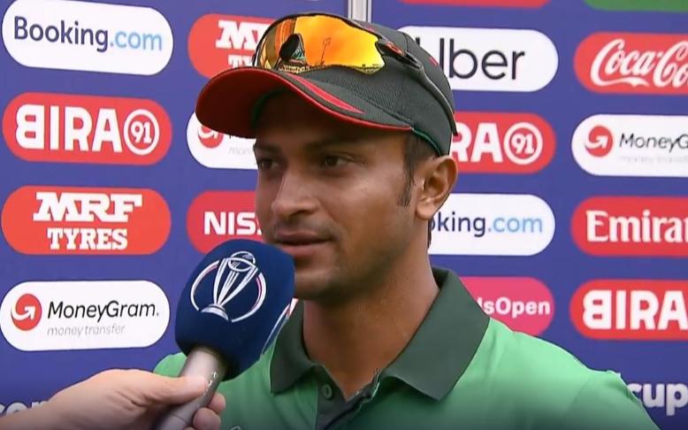 CWC 2019, WIvsBAN: मैन ऑफ द मैच शाकिब अल हसन ने बताया, क्यों नंबर 3 पर करना चाहते हैं बल्लेबाजी
